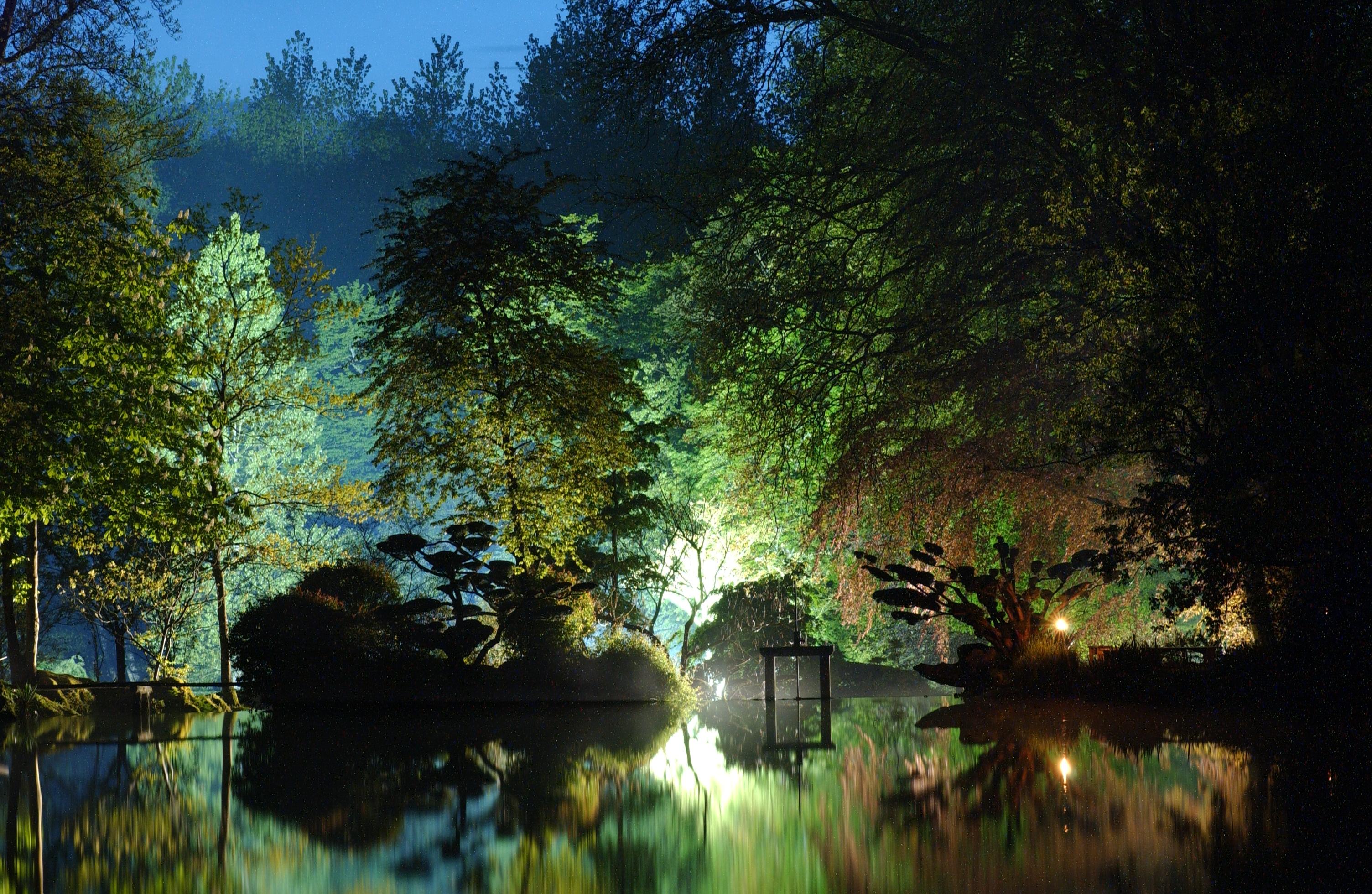 Parc oriental de maul vrier parcs et jardins maulevrier for Jardin nocturne