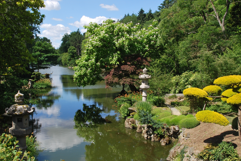Box jardins extraordinaires for Jardin japonais cholet