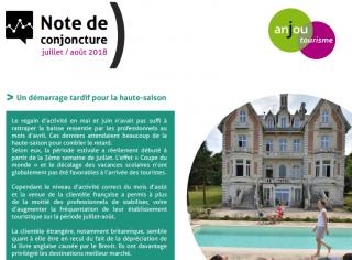 Note de conjoncture Juillet / Août 2018