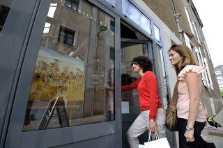 Galerías de arte, sales de exposición