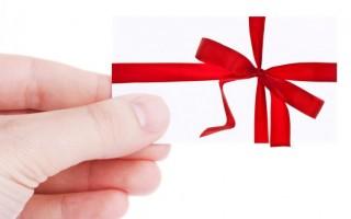 Chèques et cartes cadeaux