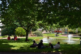 Les parcs et jardins de cholet et du choletais for Entretien jardin cholet