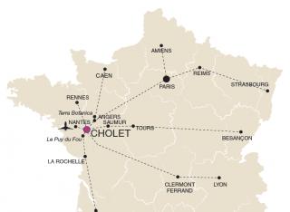 Cómo llegar a Cholet