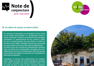 Note de conjoncture avril-mai 2019