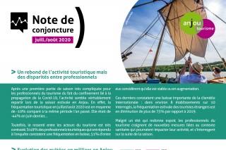 Note de conjoncture Juillet / Août 2020