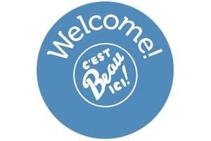 Welcome, C'est beau ici !