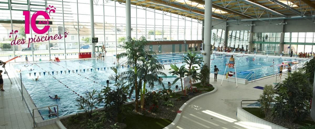 Cholet tourisme 10 ans piscines glisséO animations 100% famille