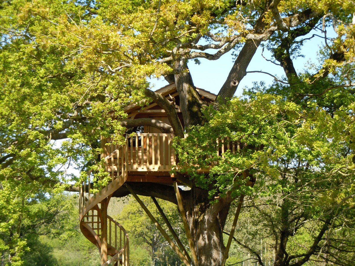 Cholet tourisme cabane perchée insolite
