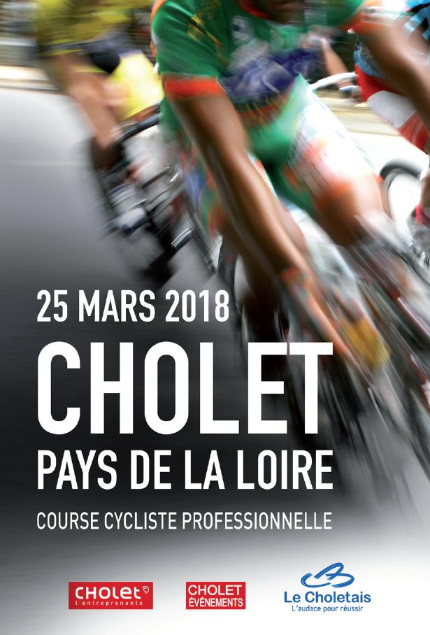 cholet tourisme course vélo cholet pays de lal oire