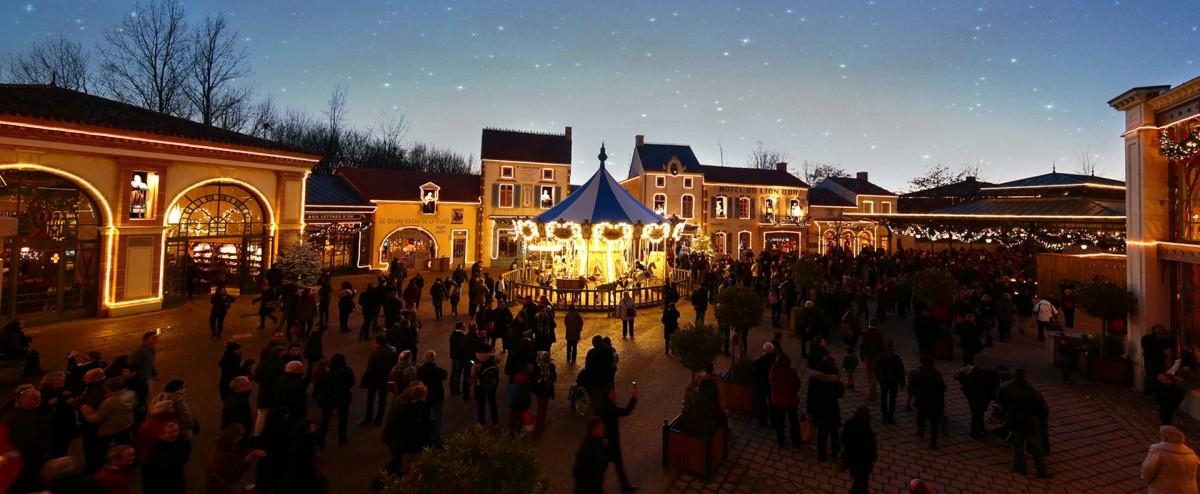 Cholet tourisme puy du fou grand noel mystere meilleur parc à thème du monde hiver les épesses