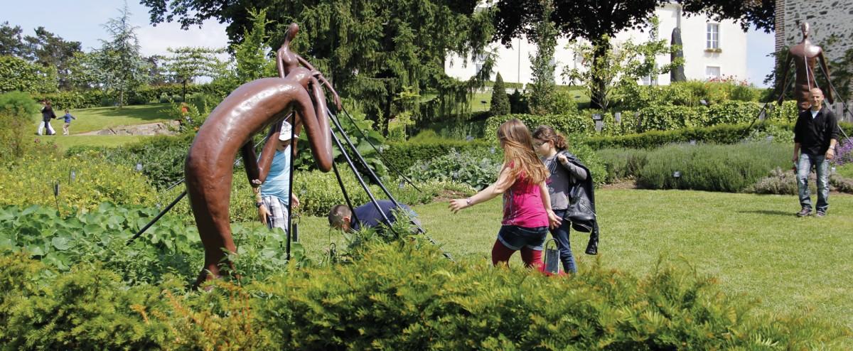 Cholet tourisme jardin camifolia chemill� plantes aromatiques m�dicinales