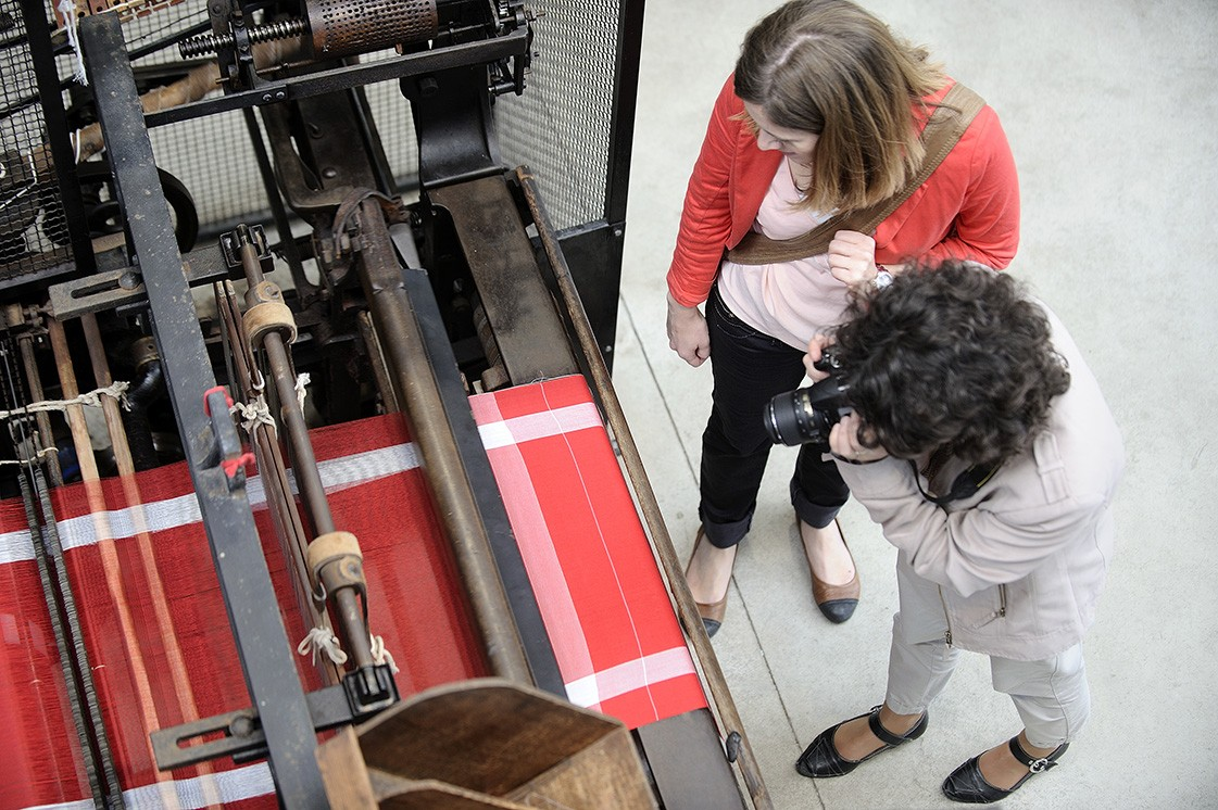 Cholet tourisme journée du mouchoir musée du textile et de la mode symbole tradition tissage