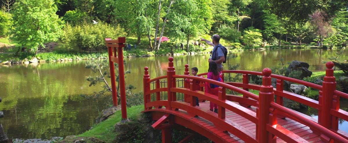 Cholet tourisme parc oriental jardin japonais plus grand d'europe zen maul�vrier nocturne