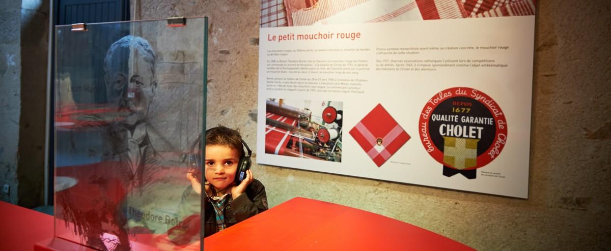 Cholet tourisme mus�es art histoire textile mouchoir expositions galeries