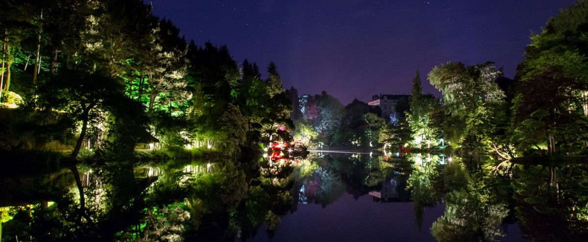 Cholet tourisme nocturnes parc oriental maulévrier jardin japonais zen