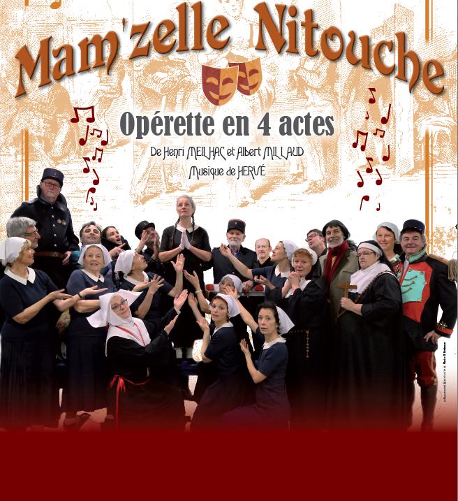 Cholet tourisme opérette mamzelle nitouche théâtre interlude joyeux lurons billetterie office de tourisme