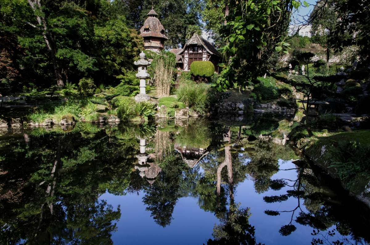 parc oriental de maul vrier office de tourisme du choletais On jardin japonais cholet