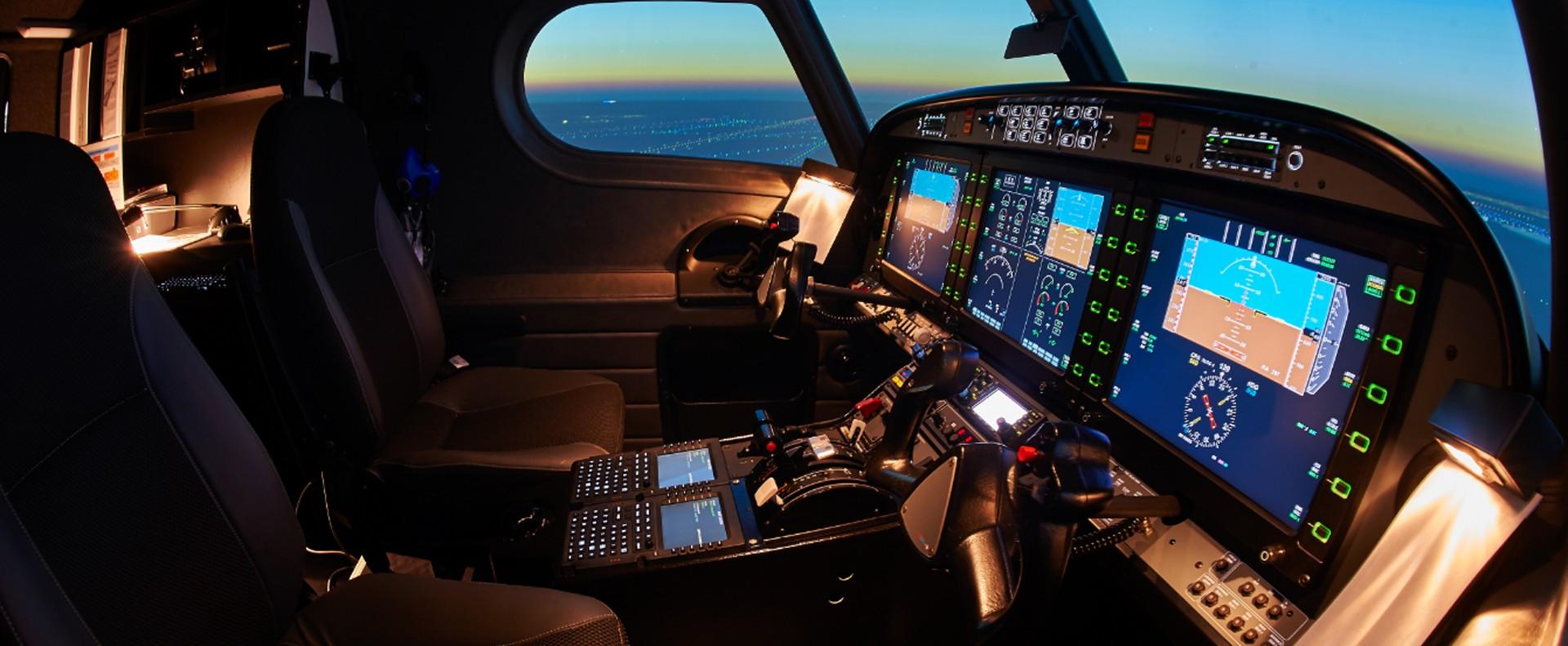 Simulateur de vol à Aeroways