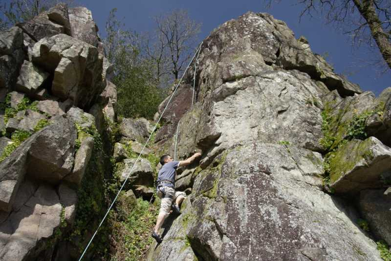 Escalade - Le Rocher du Manis - Le Longeron