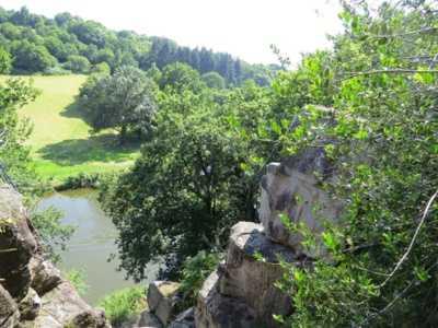 Cholet nature bouger escalade sport Rocher du Manis Le Longeron