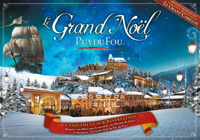 Le Grand Noel Du Puy Du Fou Grand Noël du Puy du Fou   Office de Tourisme du Choletais