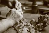 cholet tourisme scultpeur sur bois jean joseph dixneuf le chant du chêne