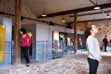 Cholet tourisme musee textile mode industrie mouchoir rouge histoire ancienne blanchisserie