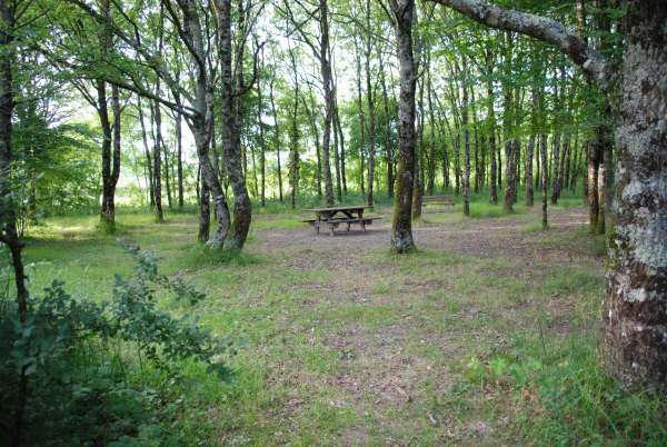 Cholet tourisme aire de pique-nique aire des guérets Chanteloup les bois