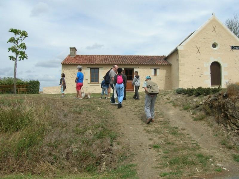 Cholet Tourisme Pique-nique Passavant-sur-Layon Chapelle Patrimoine