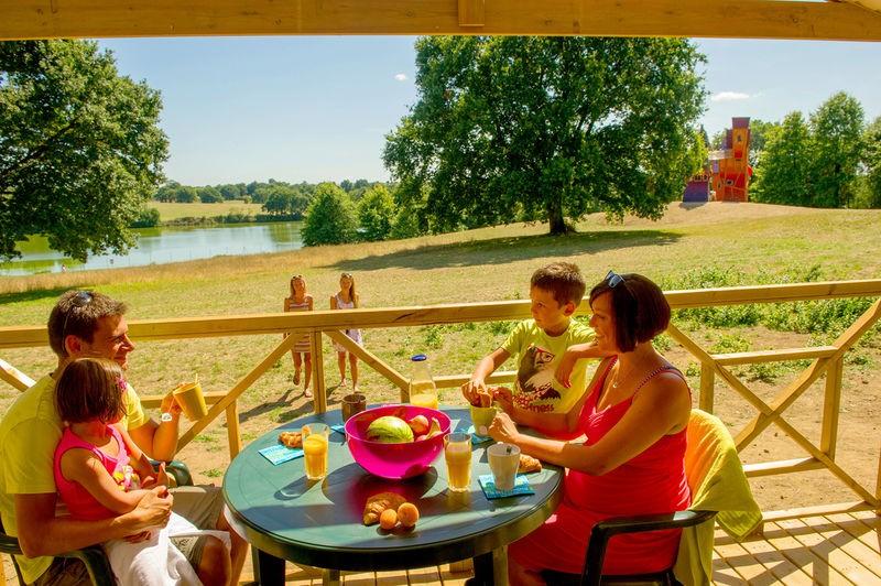 Cholet Tourisme Camping Capfun Lac de Ribou 4 étoiles Cholet 49