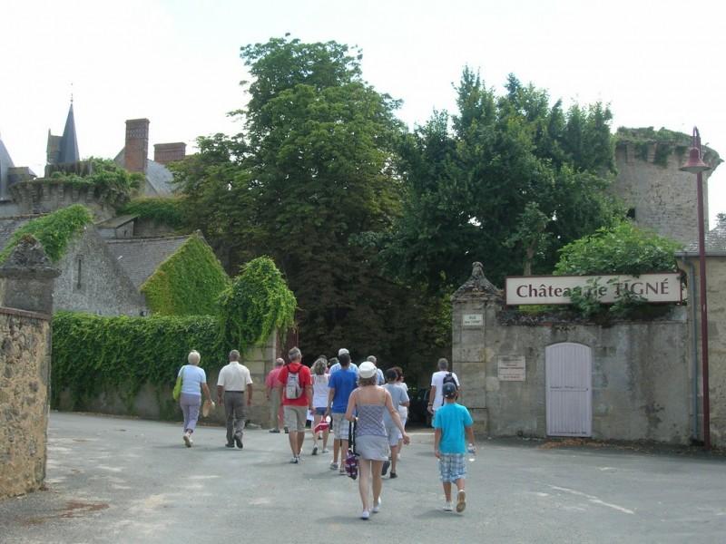 Cholet Tourisme Randonnée Pédestre Patrimoine Château Tigné Lys-Haut-Layon