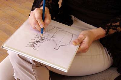 Cholet tourisme activités et loisirs cours dessin peinture les ateliers de Cathy Cholet