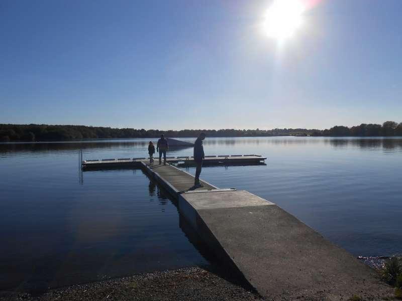 Cholet tourisme lieux de visites espace naturel Etang des Noues balade forêt activités ludiques et sportives