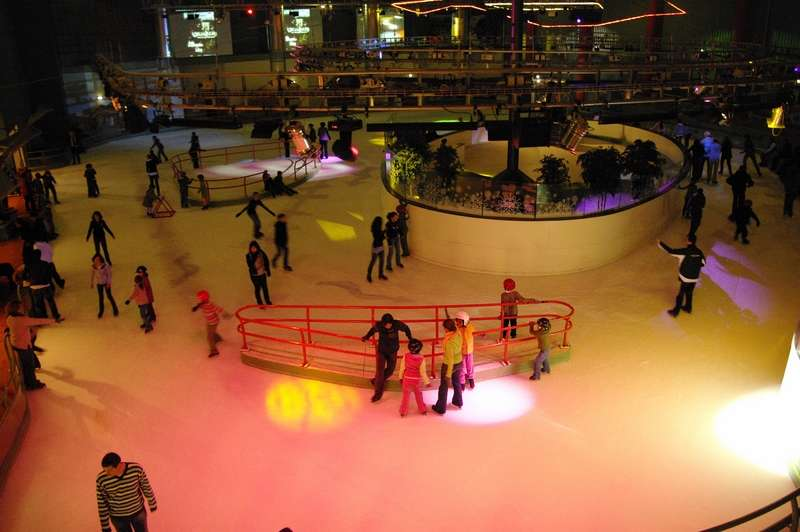 Gliss o patinoires patinage hockey sur glace cholet for Piscine franconville