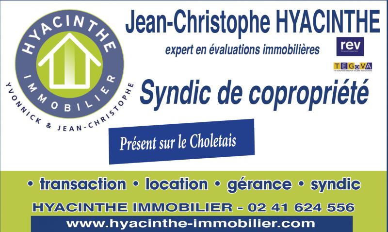 cholet tourisme hyacinthe immobilier syndic copopriété