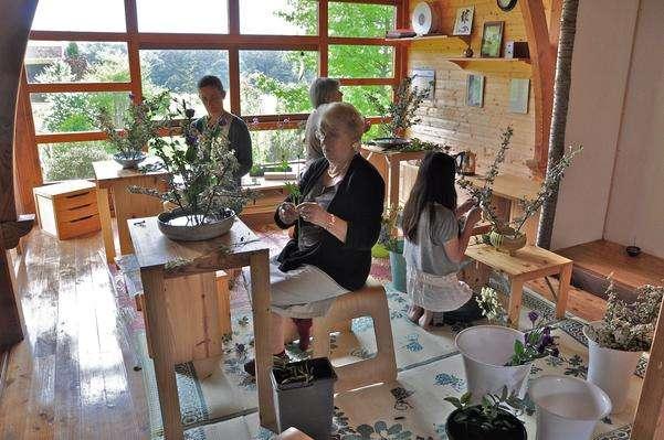Cholet tourisme activités et loisirs ikebana parc oriental Maulévrier