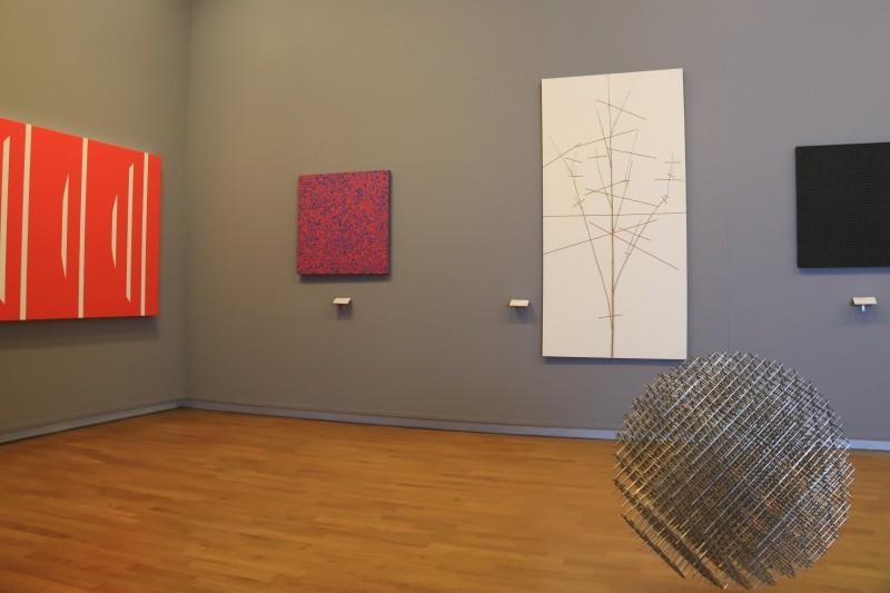 Cholet tourisme musee art histoire salle françois morellet galerie abstraction géométrique