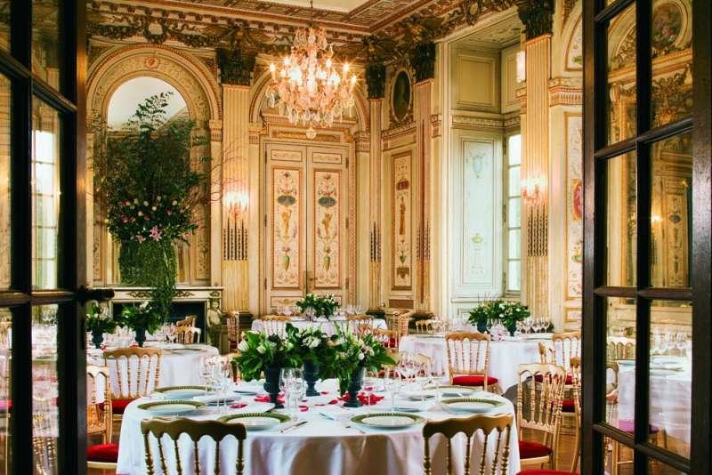 Cholet restaurant gastronomique château colbert maulévrier