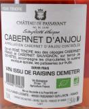 Cabernet d'Anjou Bio Château de Passavant