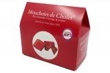 Coffret 100 gr de chocolats - Mouchoir de Cholet®