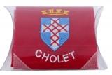 Mouchoir brodé de Cholet - Blason de Cholet