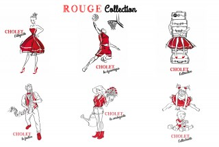 Cartes postales Rouge Collection