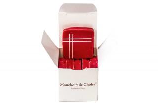 Cube chocolat - Mouchoir de Cholet®