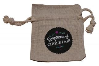 Pochette en lin - Surprenant Choletais