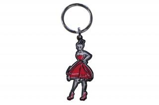 Porte-clés L'Elégante - Rouge Collection