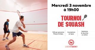 Tournois de Squash