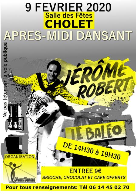 Après-midi dansant Jérôme Robert Cholet