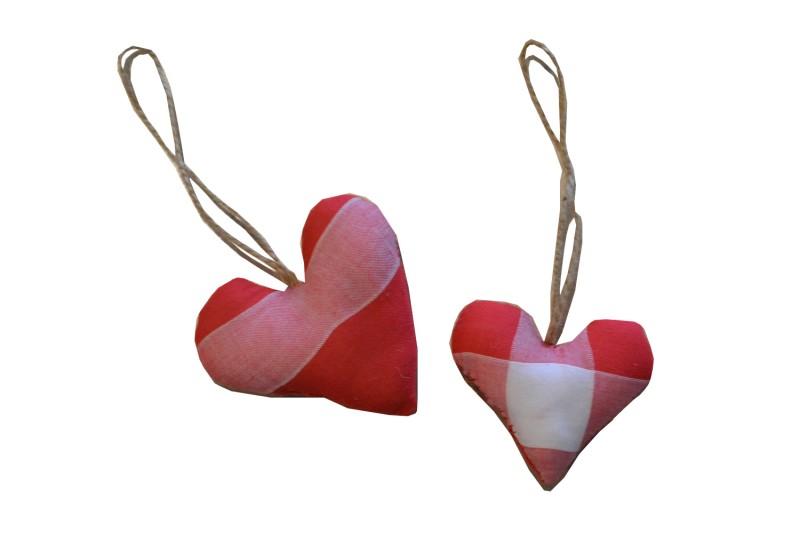 Cœur rouge Mouchoir de Cholet