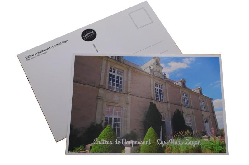 carte-postale-chateau-de-maupassant