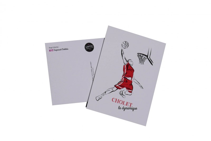 Cholet tourisme boutique rouge collection mouchoir de Cholet